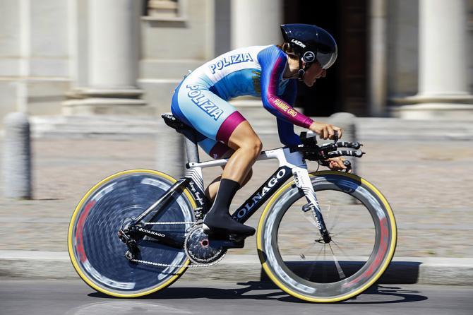 Elisa Longo Borghini (Wiggle High5) на пути к победе (фото: Bettini Photo)