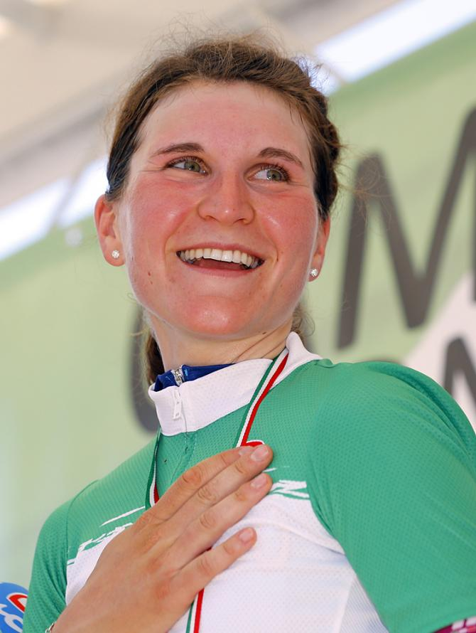 Elisa Longo Borghini (Wiggle High5) получила титул итальянской чемпионки 2016 по гонкам на время (фото: Bettini Photo)