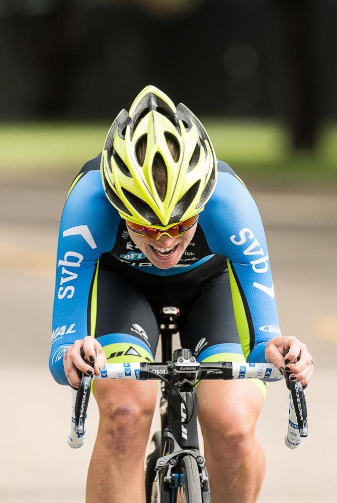 Lauren Stephens (Team Tibco-SVB) берёт второе место разделки (фото: Matthew Moses/Moses Images)