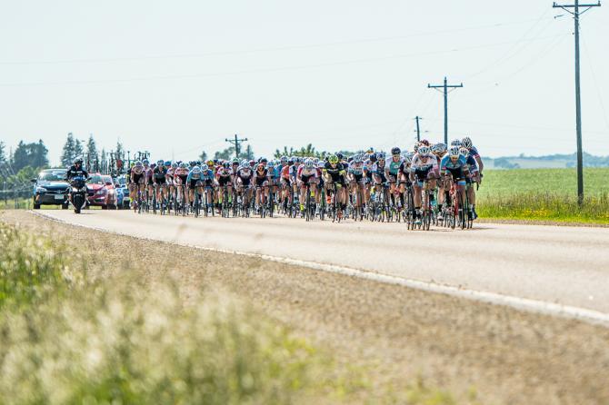 Велогонщики после завала (фото: Matthew Moses/Moses Images)