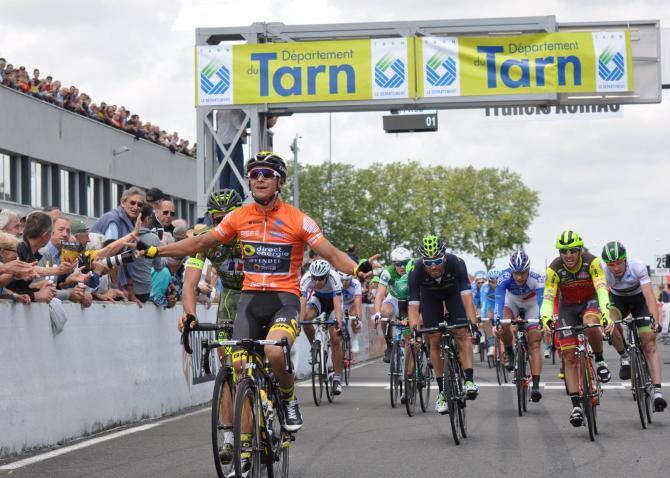 Бриан Кокар выиграл второй этап Рут дю Сюд (фото: Route du Sud)