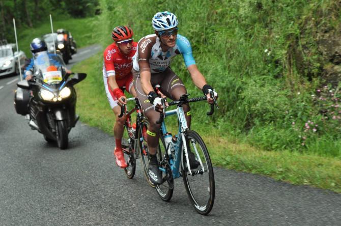 Julien Berard и Romain Hardy в отрыве (фото: Route du Sud)