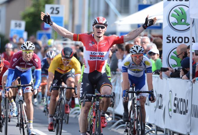 Andre Greipel (Lotto Soudal) победил в Люксембурге(фото: Serge Waldbillig)