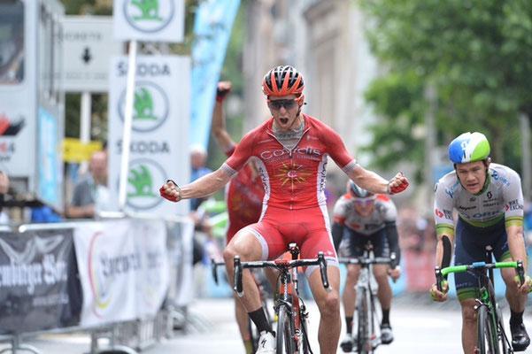 Энтони Терджис выигрывает 3-й этап (фото: Tour of Luxembourg)