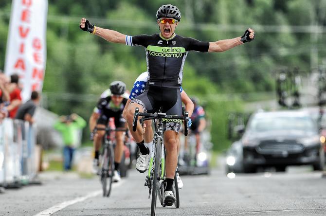 Mikhel Raim (Cycling Academy) выиграл 4 этап Tour de Beauce 2016 (фото: Brian Hodes / VeloImages)