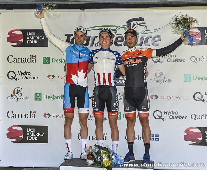 Stage podium: l to r - Huole, Daniel, Jimenez (фото: Robert Jones)