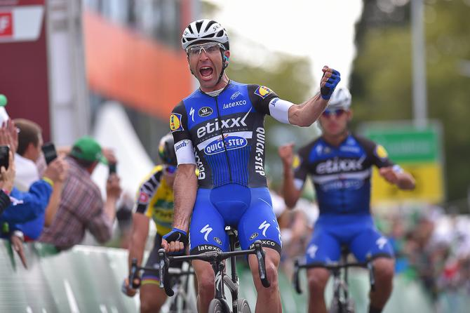 Maximiliano Richeze wins stage 4 at Tour de Suisse (фото: Tim de Waele/TDWSport.com)