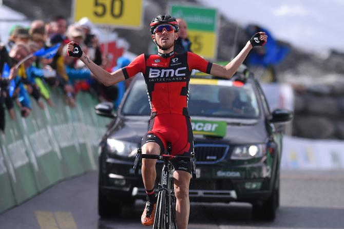 Tejay van Garderen (BMC) wins stage 7 of the Tour de Suisse (фото: Tim de Waele/TDWSport.com)