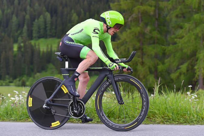 Эндрю Талански финишировал пятым в гонке с раздельным стартом (фото: Tim de Waele/TDWSport.com)