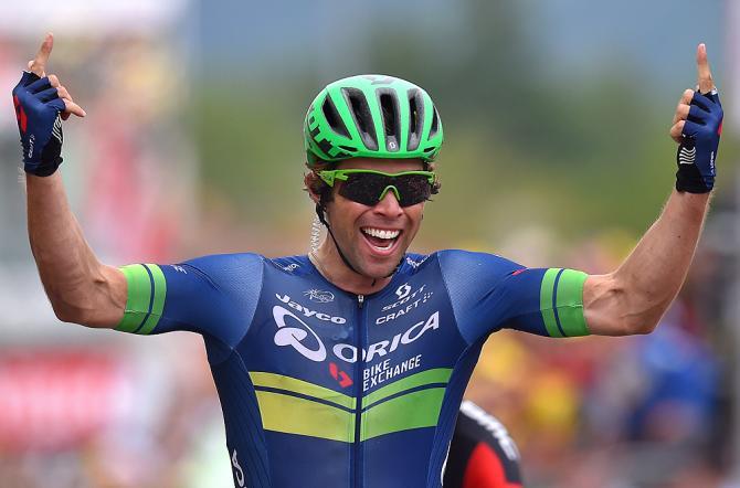 Майкл Мэттьюс (Orica-BikeExchange) одержал победу на 10 этапе Тур де Франс (фото: Tim de Waele/TDWSport.com)