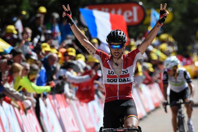 На 12 этапе Тур де Франс 2016 одержал победу Томас Де Гендт (фото: Getty Images Sport)