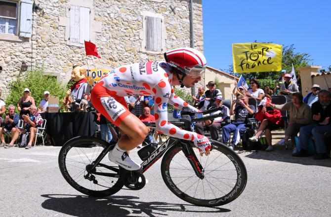 KOM leader (Lotto Soudal) (фото: Tim de Waele/TDWSport.com)