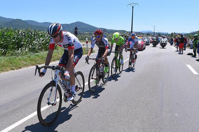 Эльмингер воглаве отрыва (фото: Tim de Waele/TDWSport.com)