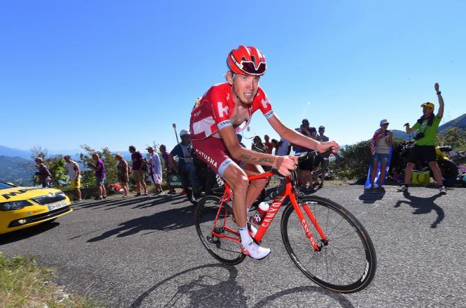 Ильнур Закарин (Katusha) выигрывает 17 этап веломногодневки (фото: Tim de Waele/TDWSport.com)