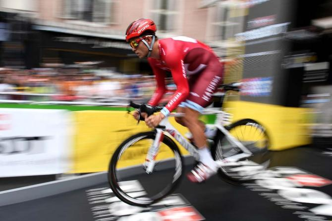 Александер Кристофф (Katusha) стартовал одним из первых (фото: Getty Images Sport)