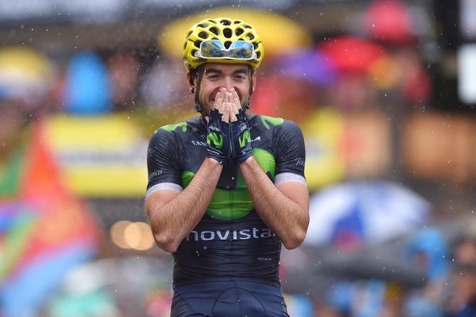 Ион Исагирре празднует, победив на 20 этапе (фото: Tim de Waele/TDWSport.com)