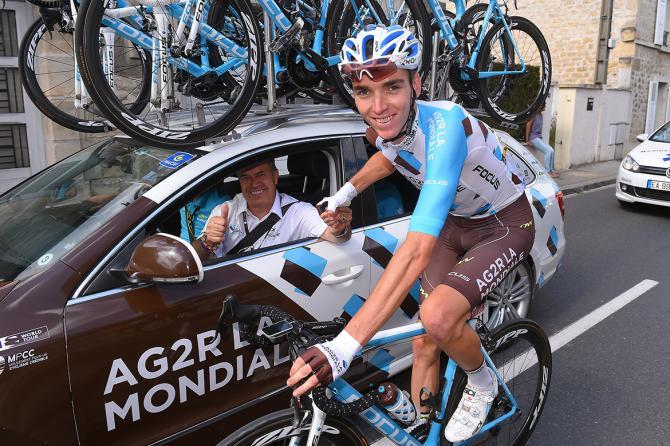 Romain Bardet (AG2R La Mondiale) (фото: Tim de Waele/TDWSport.com)