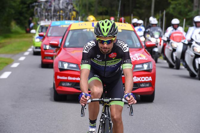 Armindo Fonseca (Fortuneo - Vital Concept) одиночный отрыв (фото: Tim de Waele/TDWSport.com)