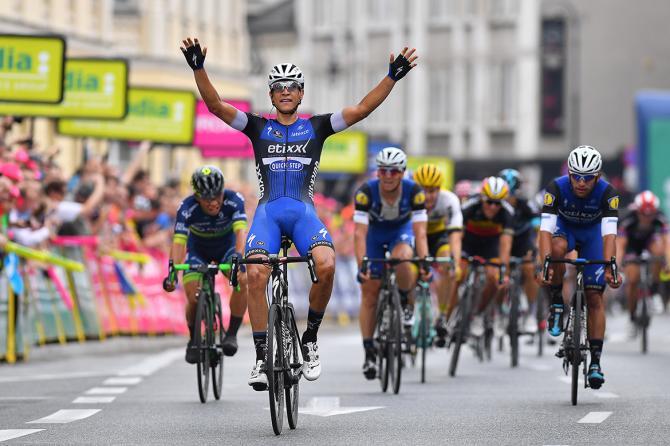 Давиде Мартинелли (Etixx-Quickstep) победитель 1 этапа Тура Польши (фото: Tim de Waele/TDWSport.com)