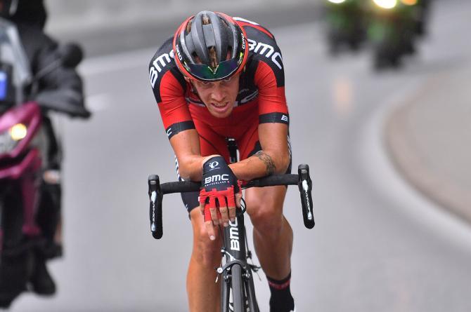 Де Марки, Алессандро (BMC) в атаке (фото: Tim de Waele/TDWSport.com)