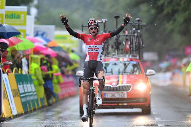 Тим Велленс (Lotto Soudal) берёт 5 этап Тура Польши в гордом одиноченстве (фото: Tim de Waele/TDWSport.com)