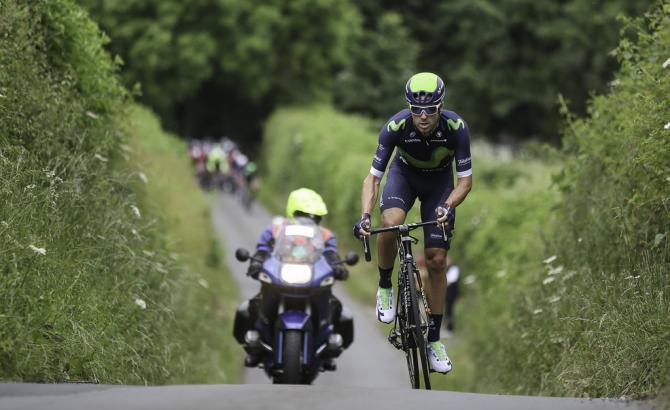 Alex Dowsett (Movistar) (фото: Simon Wilkinson / SWpix.com)