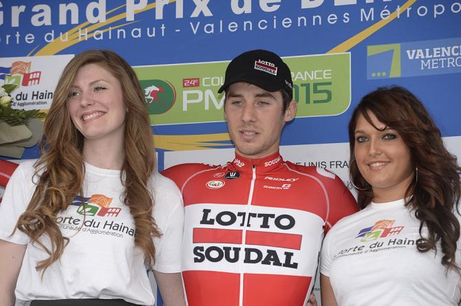 Brois Vallee (Lotto Soudal) победил в номинации - отрыв дня (фото: Fotoreporter Sirotti)