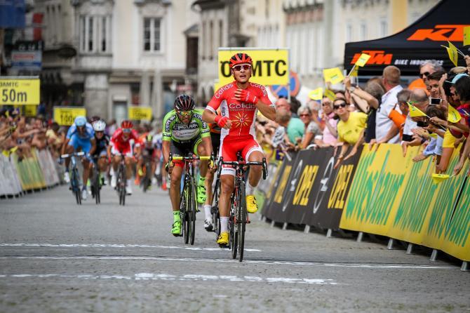 Clement Venturini (Cofidis) победитель второго этапа Тура Австрии (фото: Josef Vaishar/cycling.photography)