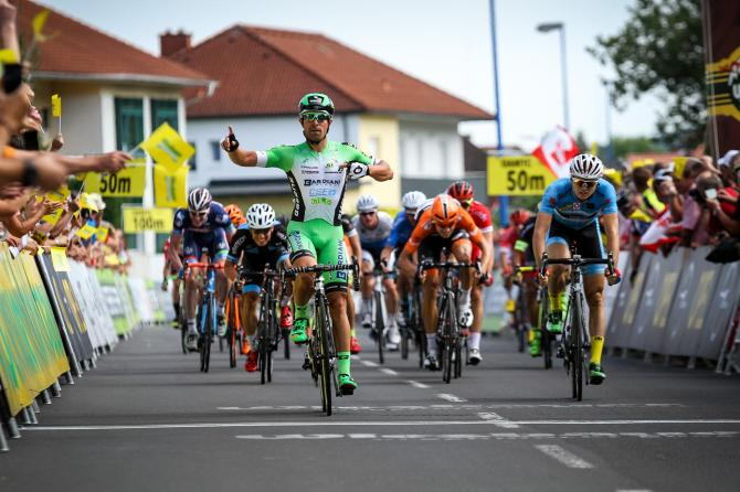 Nicola Ruffoni (Bardiani - CSF) победитель шестого этапа (фото: Josef Vaishar/cycling.photography)