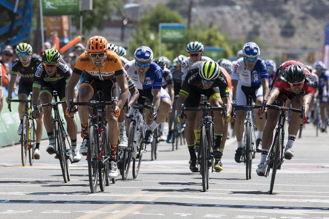 Kristofer Dahl (Silber) становится победителем 1 этапа Тура Юты (фото: Jonathan Devich)