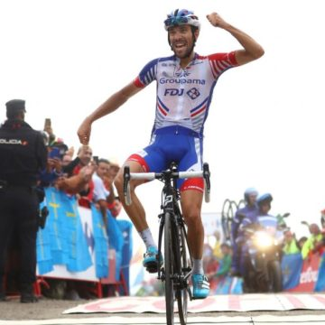 Драматическая развязка 19-го этапа велогонки «Вуэльте» (Видео)