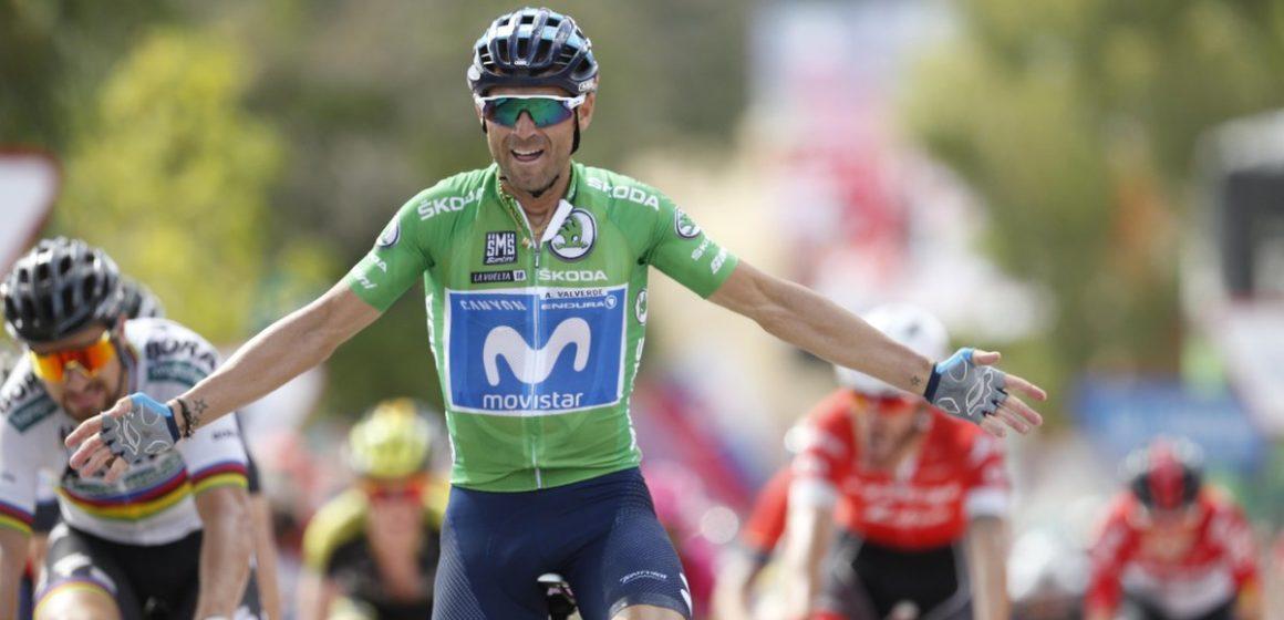 Победа испанца Вальверде на групповом этапе мира по велогонкам
