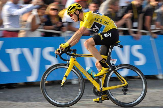 Крис Фрум отправился в Колумбию на Джиро-де-Риго