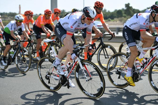 Грайпель пожаловался жюри Tour of Oman на поведение Джакомо Низолло на финальном спринте
