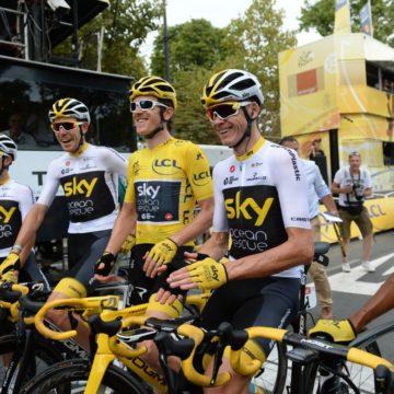 Объявление нового главного спонсора Team Sky