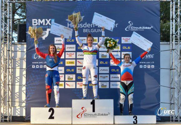 Наталья Афремова выиграла бронзу на IV этапе Кубка Европы по BMX Race