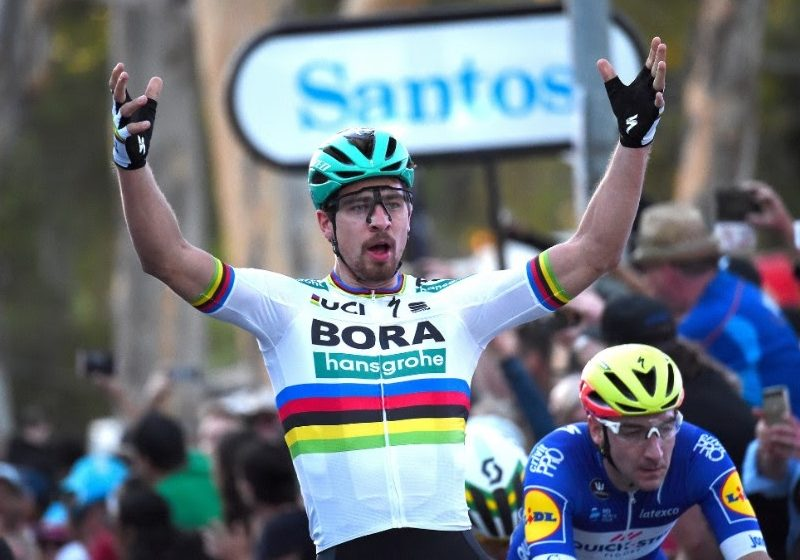 Петер Саган одержал очередную победу на Туре Калифорнии