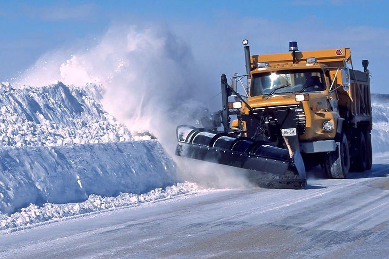 Техника для уборки снега в зимний период
