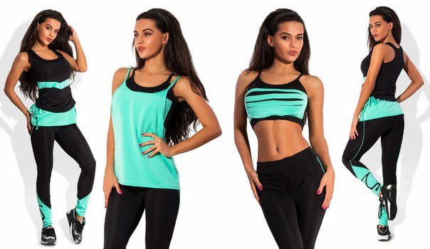 Женская одежда для спортзалаa
