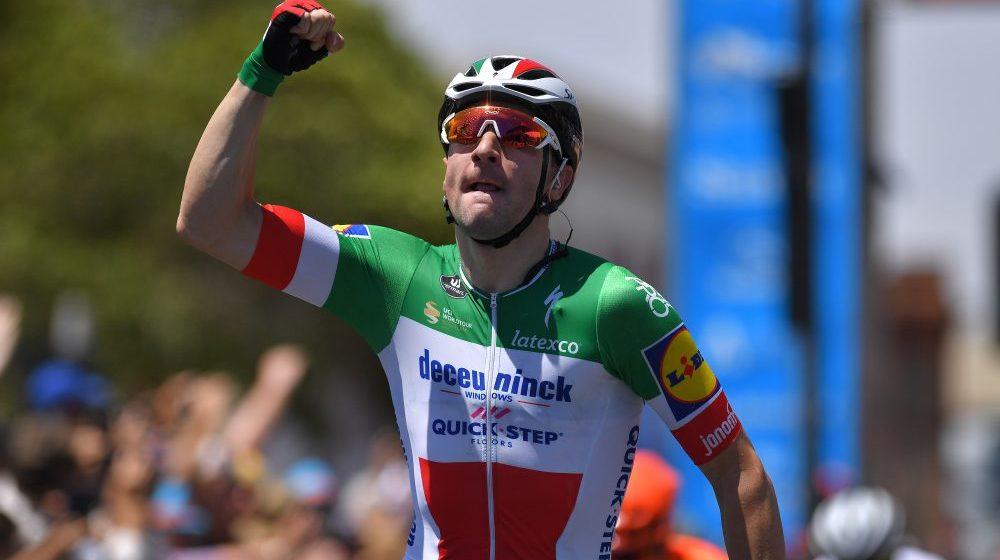 Вивиани упустил шанс получить желтую майку на Тур де Франс
