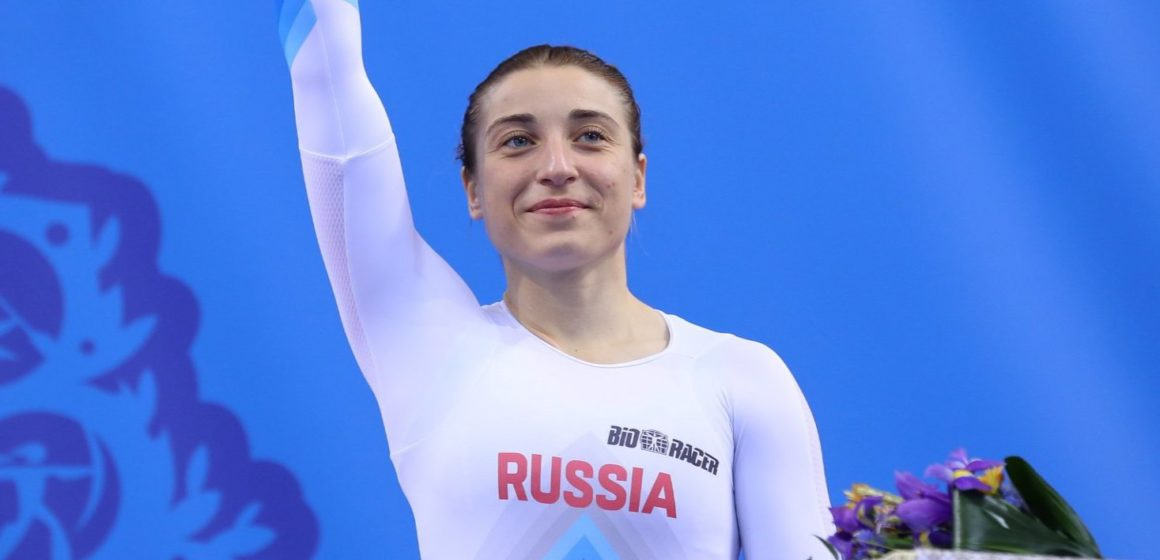 Сборная России вторая в командном зачете велоспорта на треке на Европейских играх