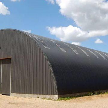 Бескаркасные зернохранилища