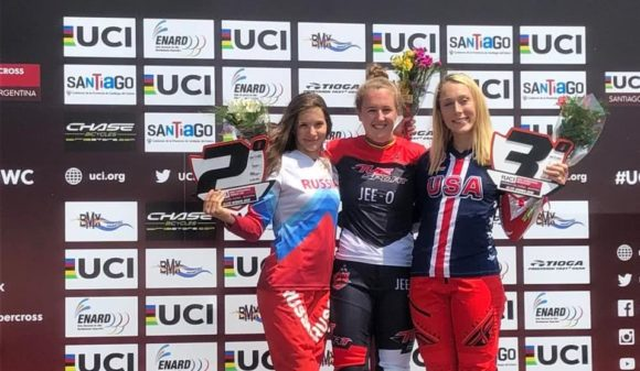 Афремова 4-я в общем зачете: результаты заключительного этапа КМ по BMX Суперкросс