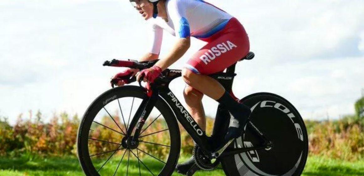 Золотая медаль Гареевой на мировом чемпионате по велоспорту
