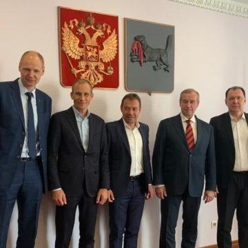 Итоги встречи президента ФВСР с губернатором Иркутской области Сергеем Левченко