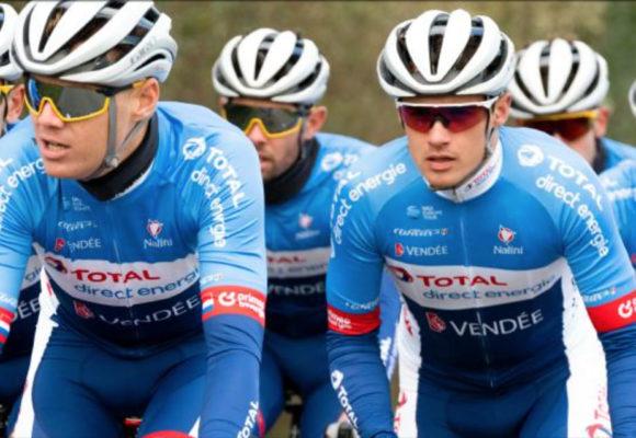Велокоманда из Франции Total Direct Energie возглавила список профессиональных континентальных команд