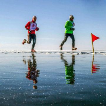 Зимний марафон по Валдайскому озеру »Ice Valdaice»