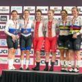 1-й день этапа Кубка мира по велотреку в Брисбене: серебро Войновой и Роговой в командном спринте