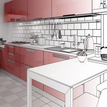 Самостоятельная планировка кухни онлайн