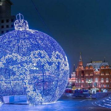 Новогодние каникулы с детьми в Москве